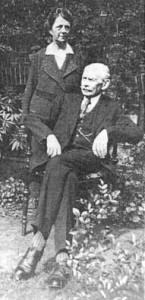 Karl Tappenbeck mit Frau Caroline